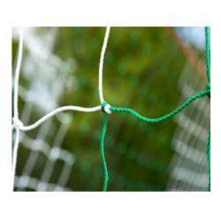 Filet de foot de stades 2 couleurs 4mm – Blanc / Vert