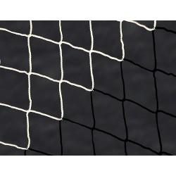 Filet de foot de stades 2 couleurs 4mm – Blanc / Noir