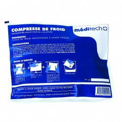 Lot de 12 Compresses de froid