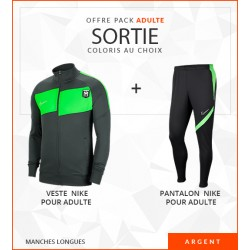 OFFRE PACK SORTIE ADULTE ACADEMY PRO ARGENT